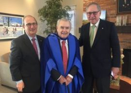 Bishop's University confers Doctor of Civil Law, honoris causa, on Ron Joyce